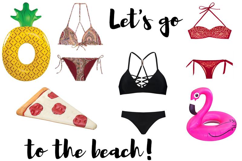 beachwear and pool gadgets - coeurdelisa